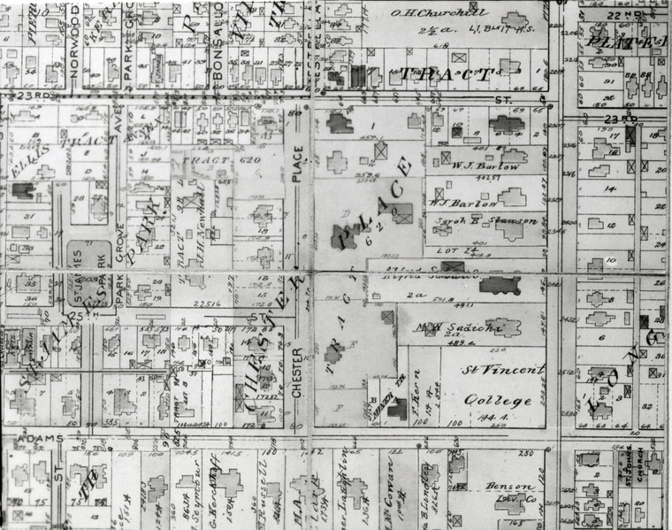 Map Of Chester Place