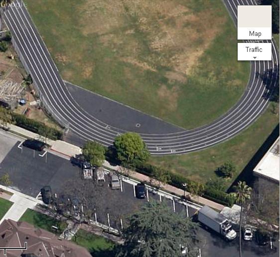 Google Map closer view (Original Six-Globe Street Lamp for