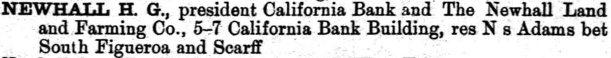 1888 Los Angeles City Directory